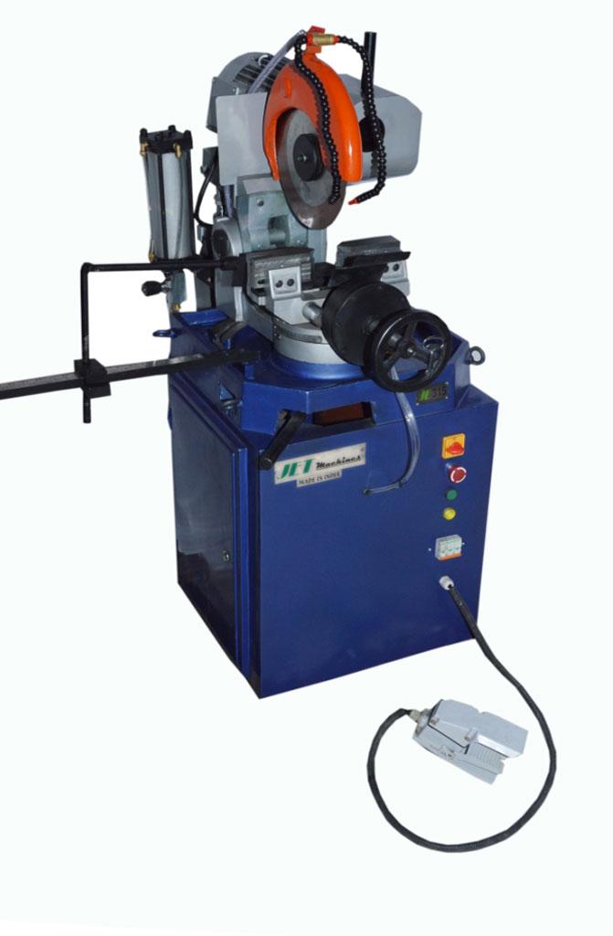 Automatic Pipe Cutting Machine ~ Hydraulic semi automatic pipe cutting machine